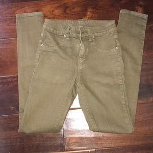 Carmar olive jeans